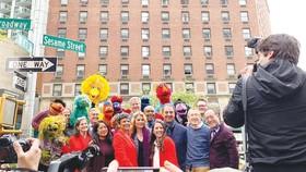 New York có tên đường Sesame Street