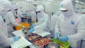 Chế biến thực phẩm tại SG Food. Doanh nghiệp nhóm sản phẩm công nghiệp chủ lực thực phẩm chế biến. Ảnh: CAO THĂNG