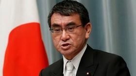 Ngoại trưởng Nhật Bản Taro Kono. Nguồn: Reuters