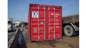 Ngăn ngừa tai nạn do rơi thùng container xuống đường