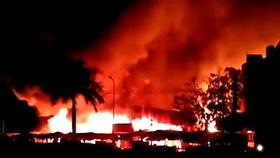 Cháy chợ Bình Long, thiệt hại gần 3 tỷ đồng