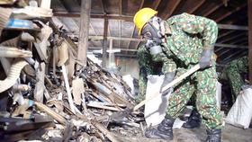 Vụ cháy Công ty Rạng Đông: Xử lý 13,5 tấn chất thải nhiễm thủy ngân