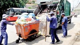 Lượng rác thải đô thị tăng nhanh tại Việt Nam