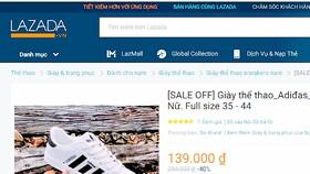 Hàng giả, hàng nhái tràn ngập chợ online