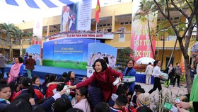 TP Hà Nội đồng loạt triển khai chương trình Sữa học đường năm 2019  