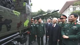 Quân đội sẽ xử lý thắng lợi các tình huống, kiên quyết không để bị động, bất ngờ