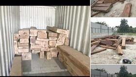 Ngang nhiên mua bán trái phép gỗ quý hiếm