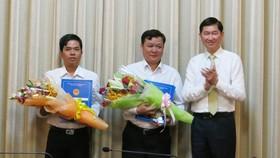 TPHCM trao đồng loạt quyết định nhân sự 4 Ban quản lý mới
