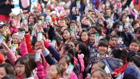 Sau 2 tháng chương trình Sữa học đường của Hà Nội chính thức triển khai tại các trường mầm non, tiểu học trên địa bàn TP Hà Nội đã có trên 87% học sinh đăng ký tham gia chương trình