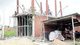 Cưỡng chế tháo dỡ 7 công trình xây dựng không phép