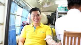 Ngày hội đỏ năm 2019 tại Nam A Bank nhận hơn 200 đơn vị máu hiến tặng từ ban lãnh đạo, cán bộ nhân viên, đối tác và khách hàng.