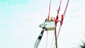 Thi công sửa chữa lưới điện hotline tại Đồng Nai