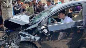 Tai nạn liên hoàn tại Đà Lạt: tài xế không có bằng lái, dương tính với ma túy