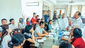 Khu dân cư Nam - Nam Sài Gòn: Người mua đất bị đưa vào tròng