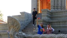 Ngôi chùa thu hút đông đảo giới trẻ đến check-in