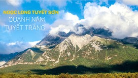Ngọc Long Tuyết Sơn quanh năm tuyết trắng