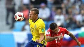 Thụy Điển - Thụy Sĩ 1-0, người hùng Forsberg ghi bàn duy nhất