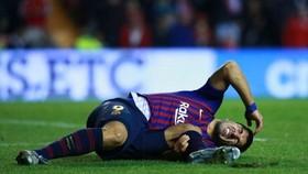 Luis Suarez phải điều trị bằng tế bào gốc.