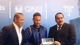Neymar chính thức trở thành đại sự thương hiệu toàn cầu cho Ngân hàng quốc gia Qatar