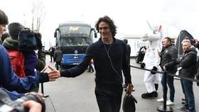 Edinson Cavani đi nghỉ ở Qatar cùng PSG
