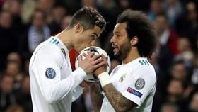 Ronaldo luôn thuyết phục Marcelo sang Juventus
