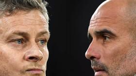 Ole Solskjaer và Pep Guardiola