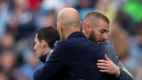 Karim benzema và HLV Zidane