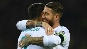 Ronaldo hy vọng tái ngộ Ramos ở Juve.