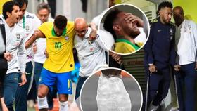 Neymar rơi nước mắt vì chấn thương