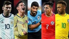 Lịch thi đấu bóng đá Copa America, vòng tứ kết: Brazil và Argentina ung dung qua ải