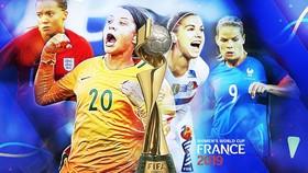Lịch thi đấu World Cup bóng đá nữ, vòng tứ kết: Tuyển Mỹ đại chiến châu Âu