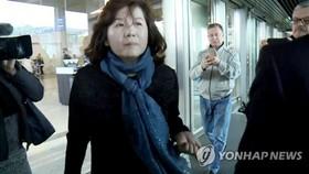 Vụ trưởng Vụ Bắc Mỹ của Bộ Ngoại giao Triều Tiên Choe Son-hui. Ảnh: Yonhap