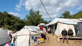 Người tị nạn ở đảo Samos. Ảnh: UNHCR