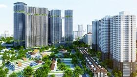 Giá chung cư tại Hà Nội đang xu hướng giảm (Ảnh minh họa: KT)