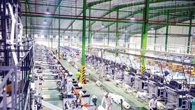 Dây chuyền sản xuất bao bì nhựa tự hủy hiện đại của An Phát.