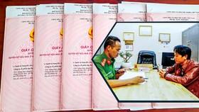 Đối tượng Nguyễn Văn Công tại cơ quan điều tra.