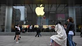 Một cửa hàng Apple ở Trung Quốc. (Nguồn: Hindustan Times)