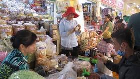 Quận huyện được ban hành giá sử dụng diện tích tại chợ