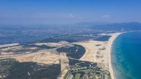 Hình ảnh vị trí quy hoạch thực tế từ dự án Nhơn Hội New City