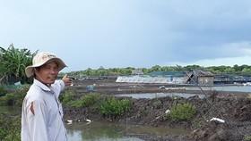 Khu đất UBND xã Tân Dân cho thuê trái quy định nhiều năm, nhưng gặp khó khi thu hồi