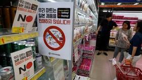 """Người tiêu dùng Hàn Quốc """"quay lưng"""" với hàng Nhật Bản"""