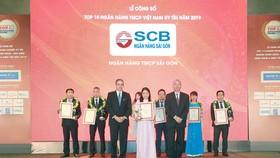 SCB - Top 10 NHTMCP tư nhân uy tín năm 2019