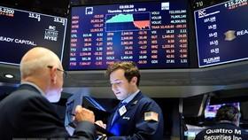 Giao dịch viên tại Sàn giao dịch chứng khoán New York, Mỹ, ngày 1/8/2019. (Nguồn: AFP/TTXVN)