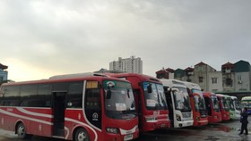 Các đơn vị vận tải đã lên kế hoạch tăng cường xe nhằm giải tỏa khách có nhu cầu đi lại tăng cao dịp nghỉ lễ 2/9. (Ảnh: Việt Hùng/Vietnam)