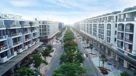 Dãy nhà phố Thương mại đẳng cấp và đẹp bậc nhất khu vực Đông Bắc TP.HCM tại Khu đô thị Vạn Phúc