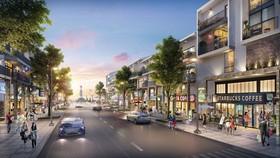 Phối cảnh nhà phố dự án MarineCity
