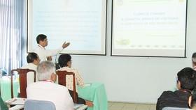 Hội thảo biến đổi khí hậu và môi trường vùng ven biển 2018