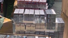 Bắt giam 4 đối tượng sản xuất bao cao su giả
