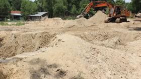 Chống đầu cơ, lũng đoạn thị trường cát xây dựng