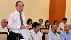 Bí thư Thành ủy TPHCM Nguyễn Thiện Nhân: Triển khai quyết liệt cơ chế, chính sách đặc thù vì cả nước